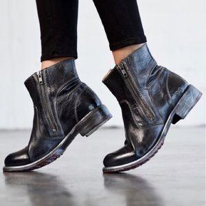Bed Stu Eiffel Ankle Boots Zipper Short Booties